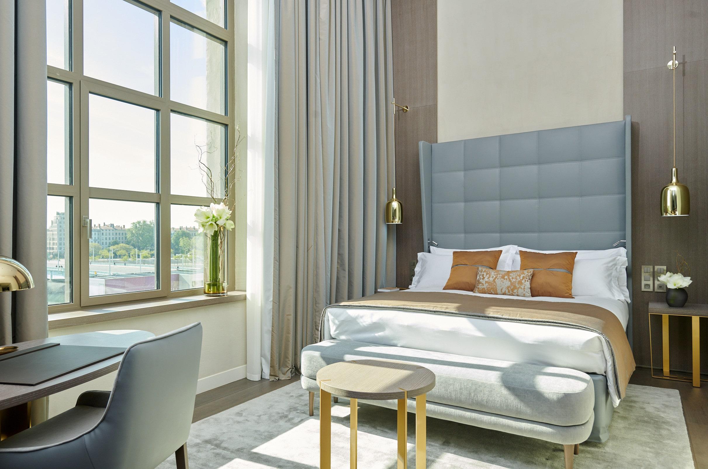 InterContinental Lyon - Hotel Dieu - Chambre executive - vue Rhone