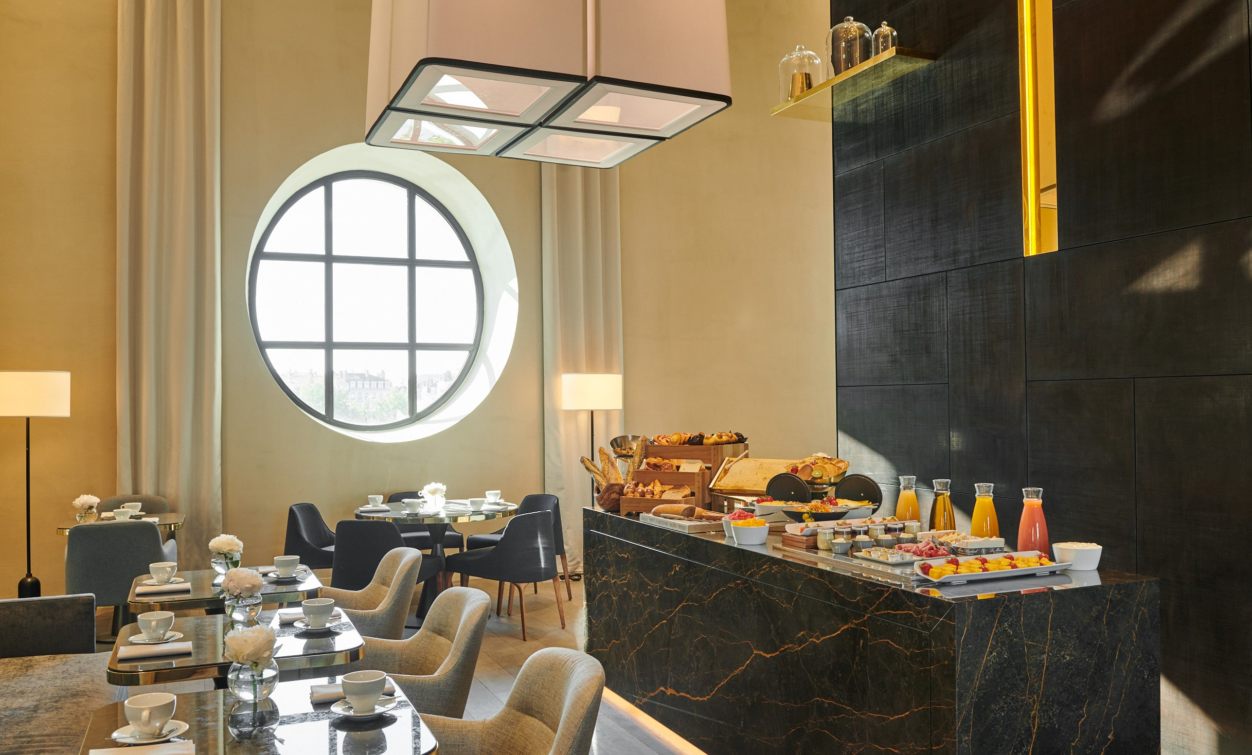 InterContinental Lyon - Hotel Dieu - Club Lounge - breakfast