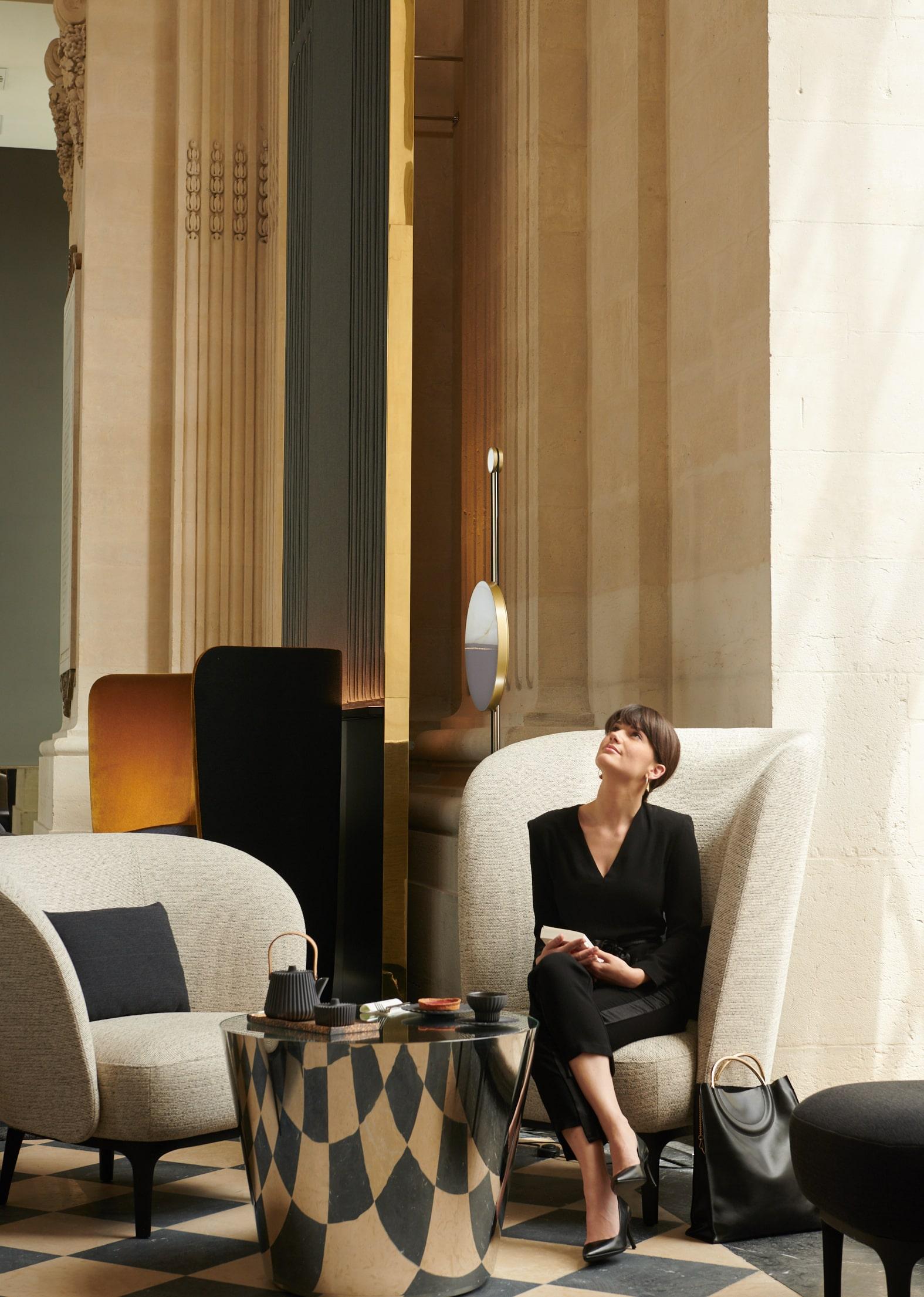 InterContinental Lyon - Hotel Dieu - bar Le Dome - tea time