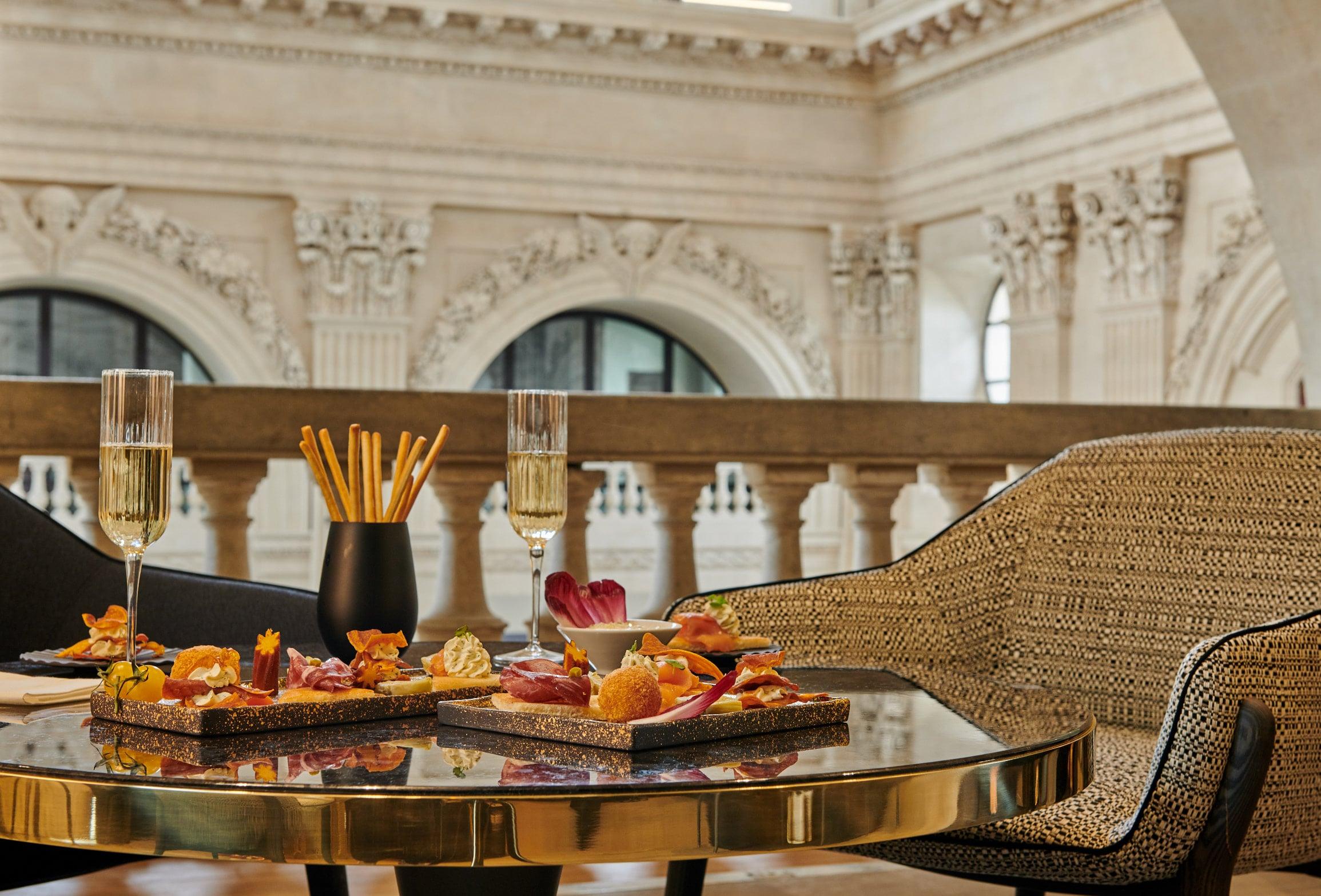 InterContinental Lyon - Hotel Dieu - club lounge - afterwork
