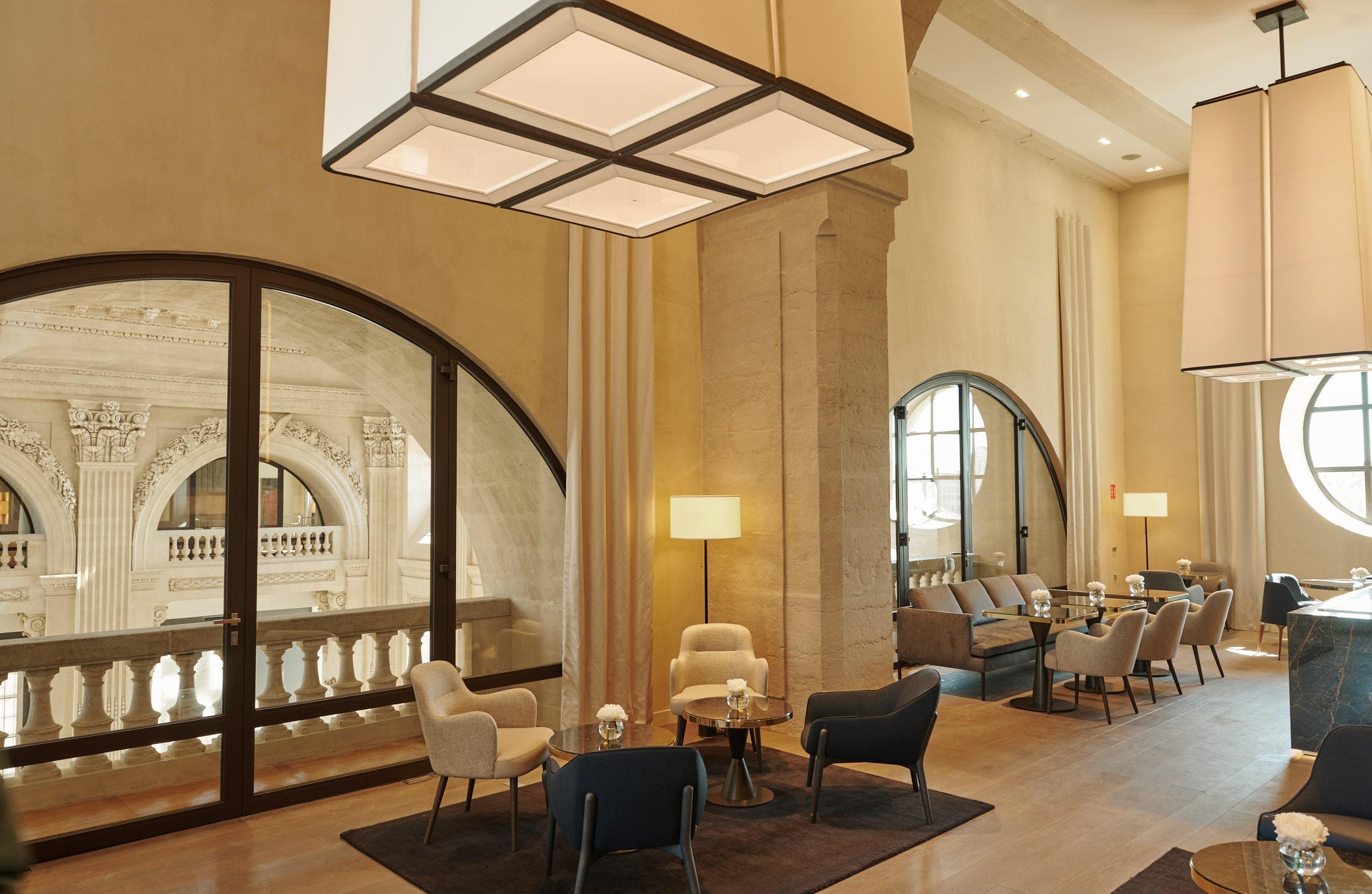 InterContinental Lyon - Hotel Dieu - club lounge