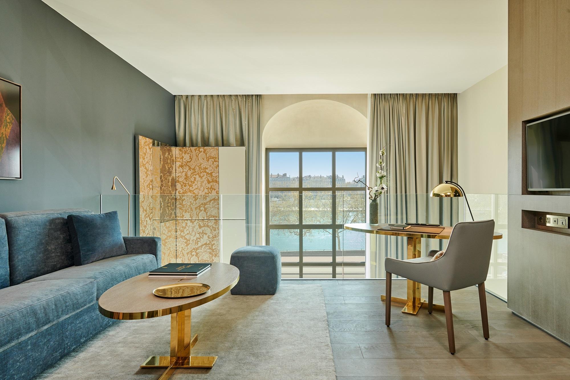InterContinental Lyon - Hotel Dieu_Suite Duplex