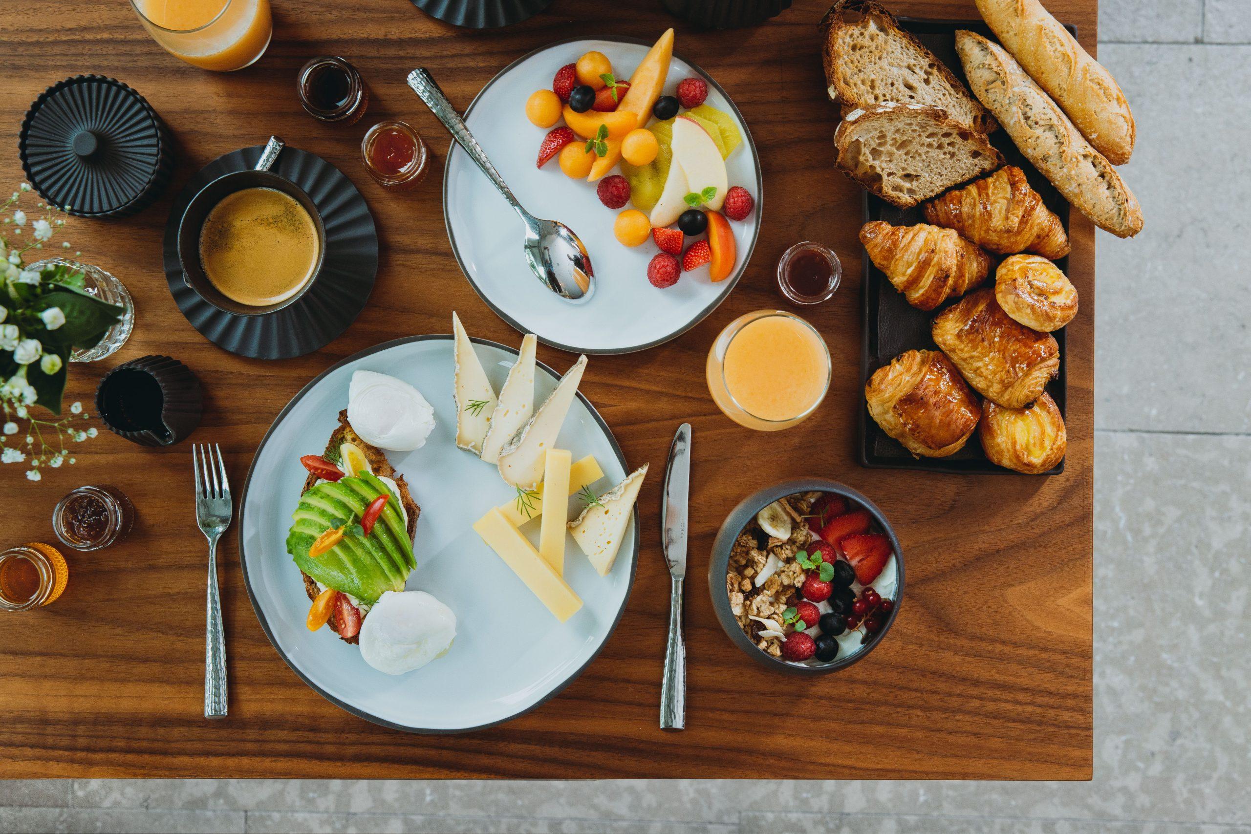 Petit déjeuner végétarien (c) Mathilda Perrot